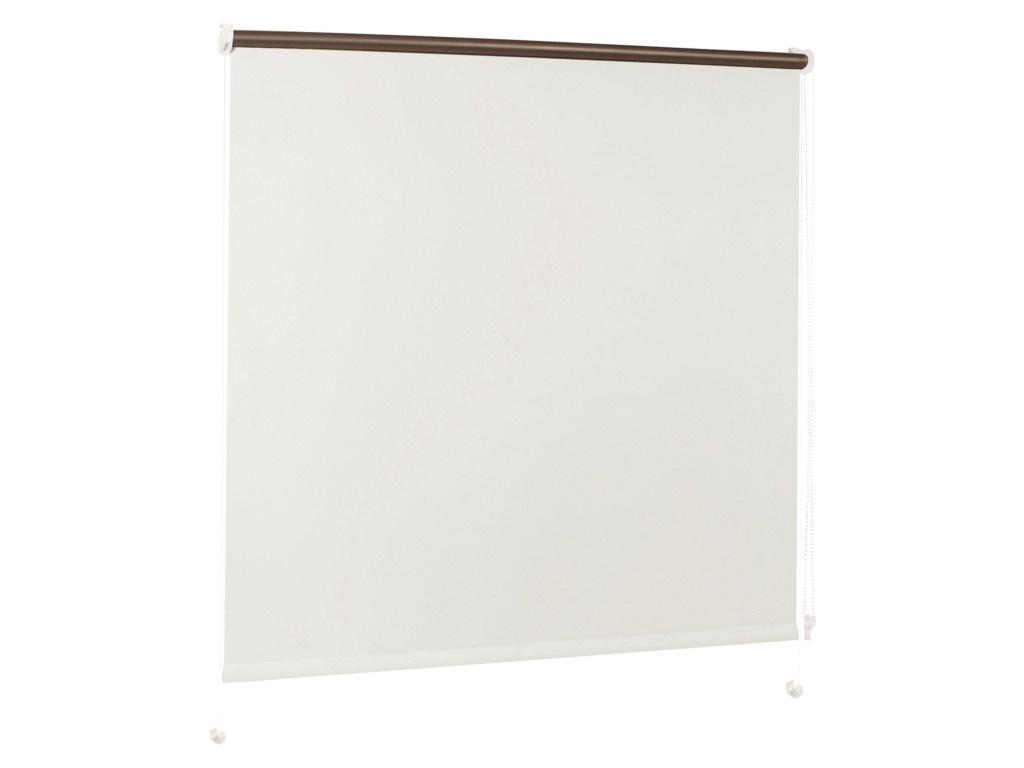 Штора рулонная Brabix 70x175cm Blackout White-Silver D-1 / 606010