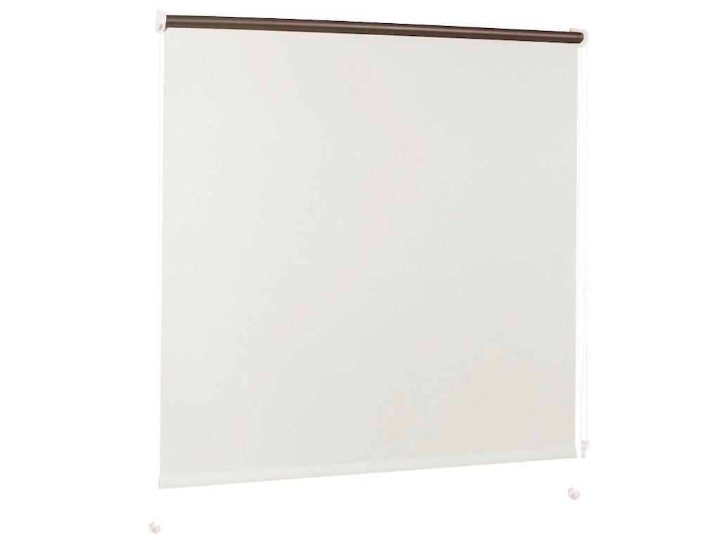 Штора рулонная Brabix 50x175cm Blackout White-Silver D-1 / 606004