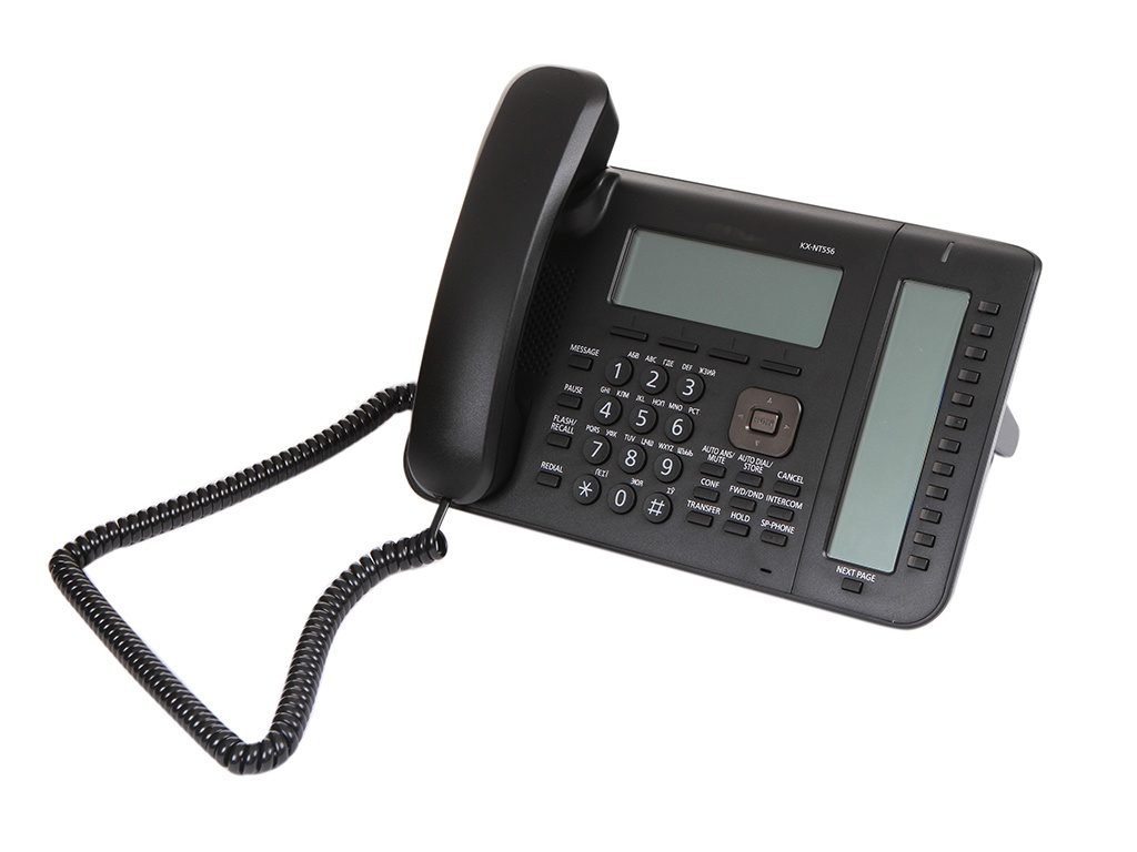 VoIP оборудование Panasonic KX-NT556RU-B