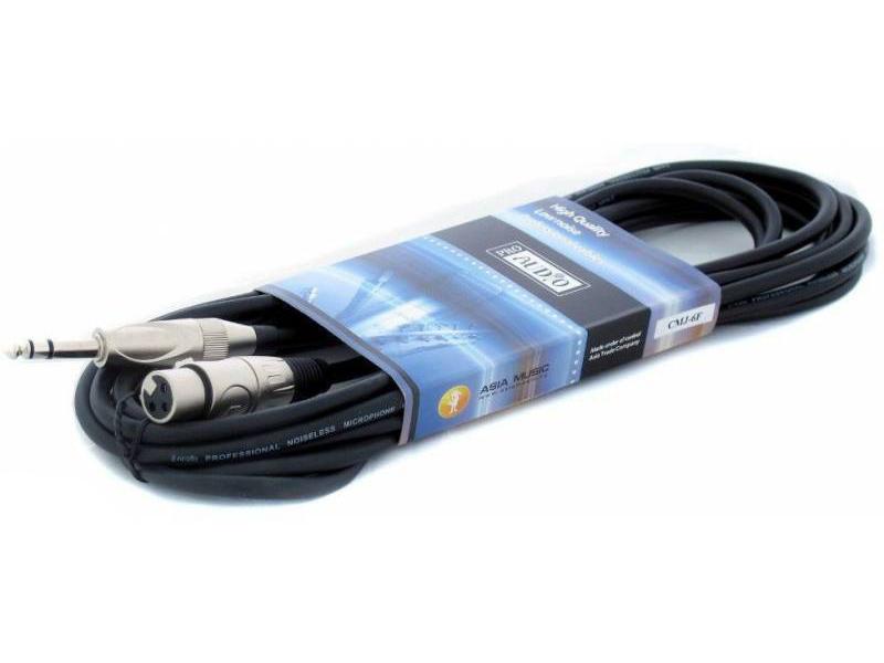 Коммутационный шнур ProAudio XLR - Jack 6m CMJ-6F