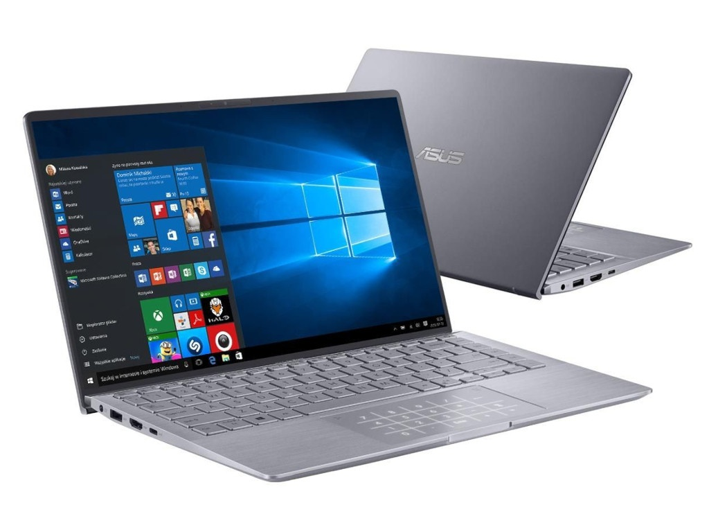 Ноутбук ASUS Zenbook UM433IQ-A5037T 90NB0R89-M01060 (AMD Ryzen 5 4500U 2.3 GHz/8192Mb/256Gb SSD/nVidia GeForce MX350 2048Mb/Wi-Fi/Bluetooth/Cam/14.0/1920x1080/Windows 10 Home 64-bit)