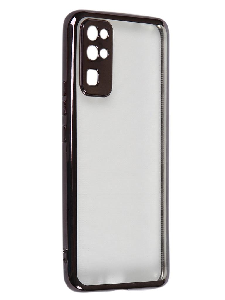 Чехол iBox для Honor 30 Blaze Silicone Black frame