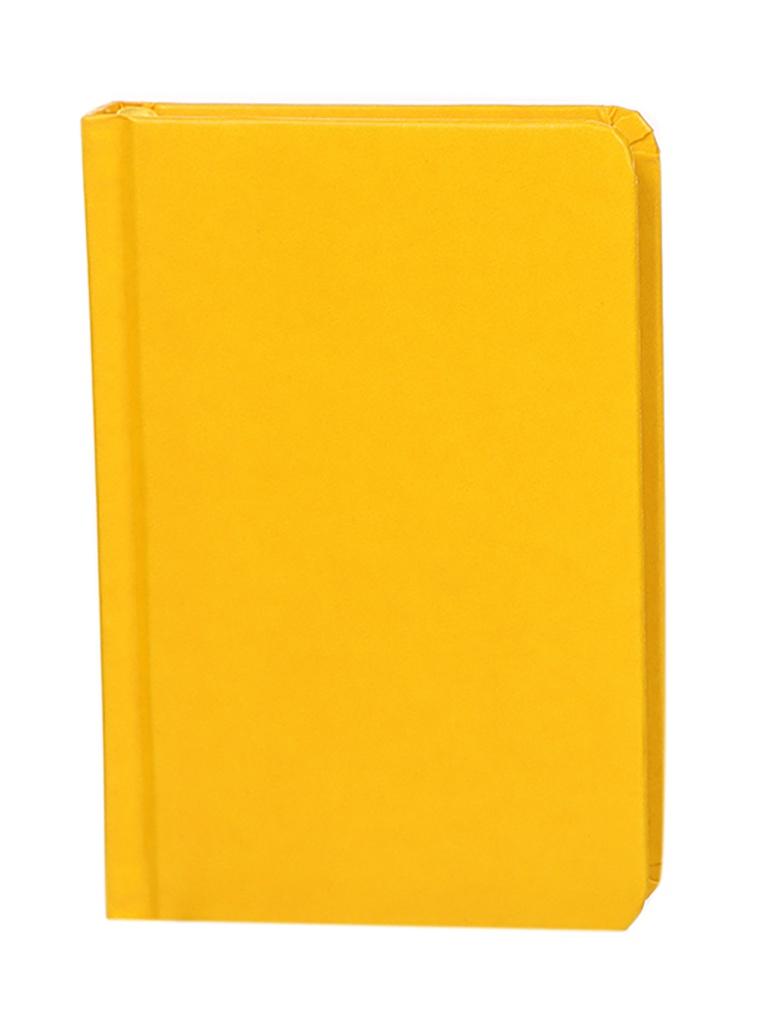 Ежедневник Brauberg Select А6 160л Yellow 111684