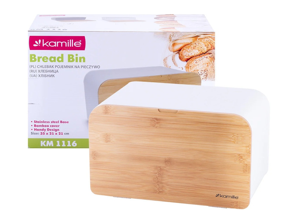 Хлебница Kamille 35x21.5x21cm 1116