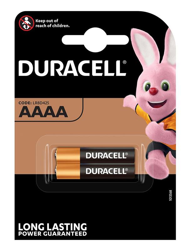 Батарейка AAAA - Duracell MN2500 (2 штуки) DR AAAA/2BL