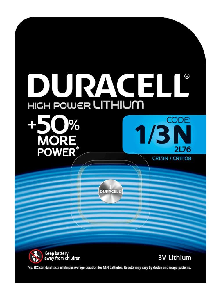 Батарейка CR1/3N - Duracell DR CR1/3N/1BL