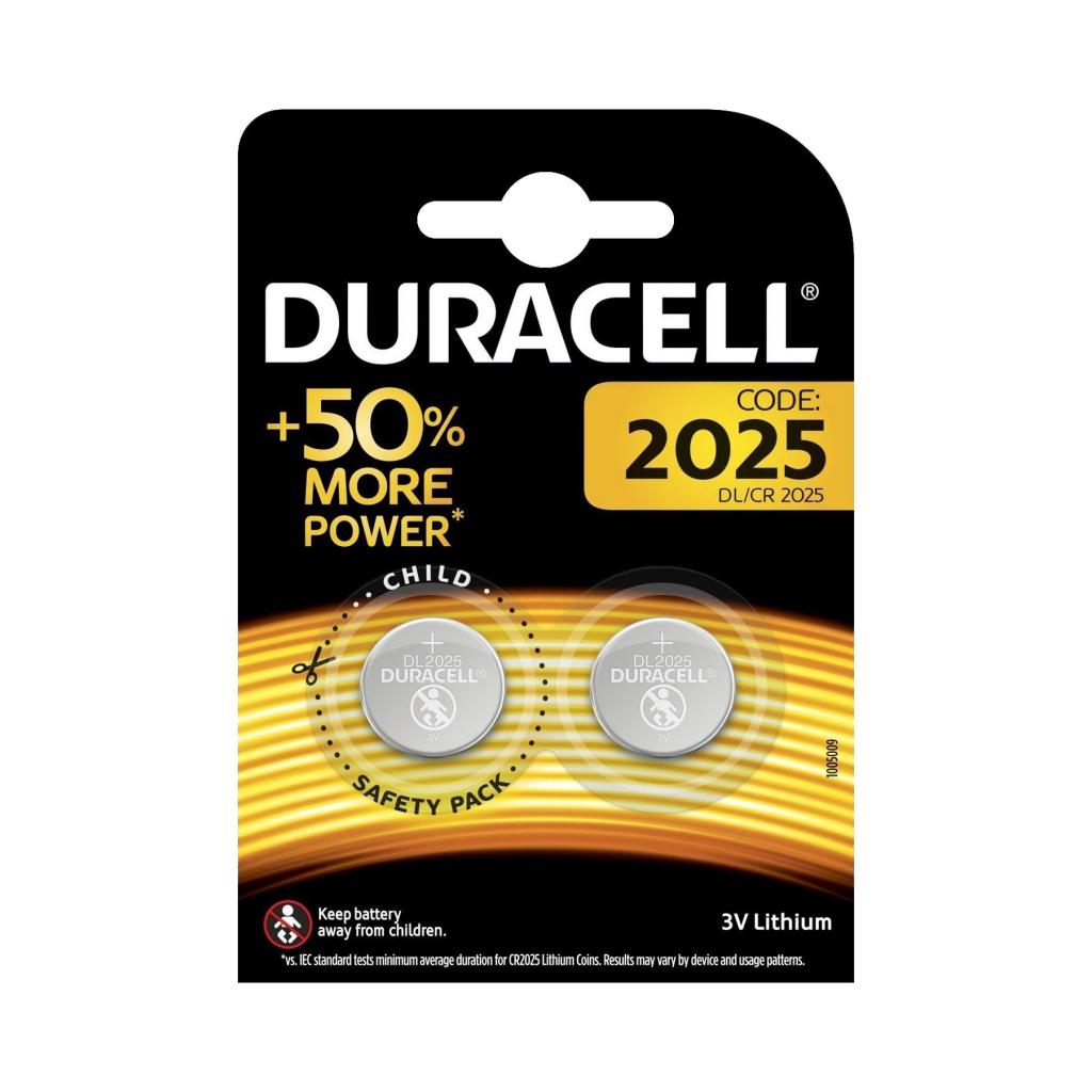 Батарейка CR2025 - Duracell DR CR2025/2BL