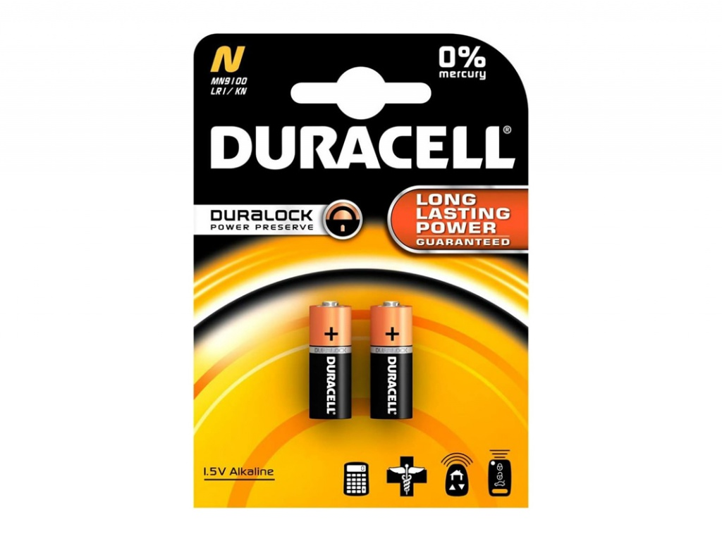 цена на Батарейка LR1 - Duracell DR LR1/2BL MN9100