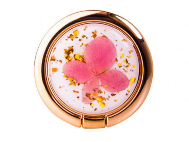 Попсокет Подставка-держатель SwitchEasy Flash Ring Pink-Gold-White GS-811-72-160-86