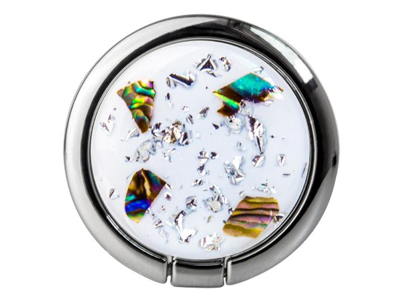 Подставка-держатель SwitchEasy Flash Ring Silver GS-811-72-160-87