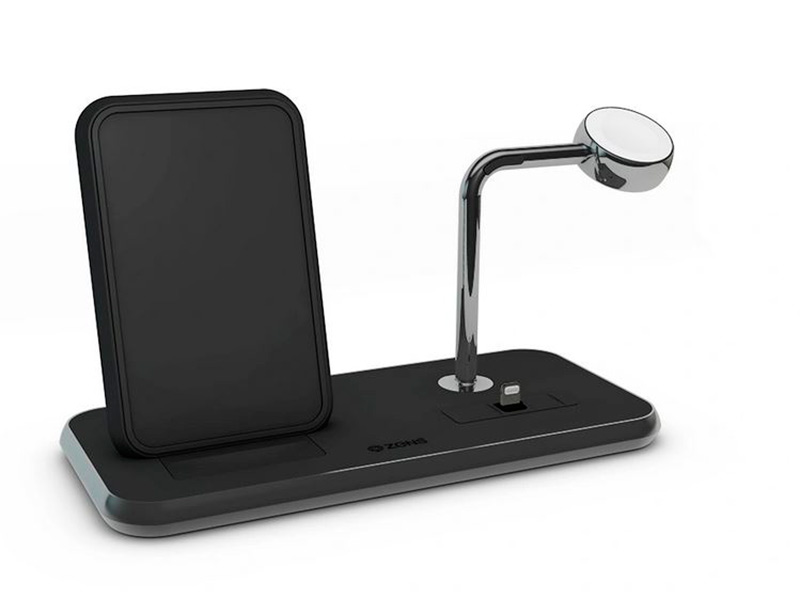 Зарядное устройство Zens Dual + Dock + Watch 10W ZEDC07B/00 зарядное устройство zens single zesc11b black