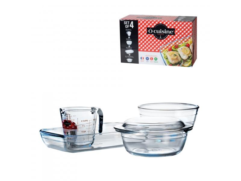 Набор Pyrex O Cuisine 4 предмета 333SA95/6142