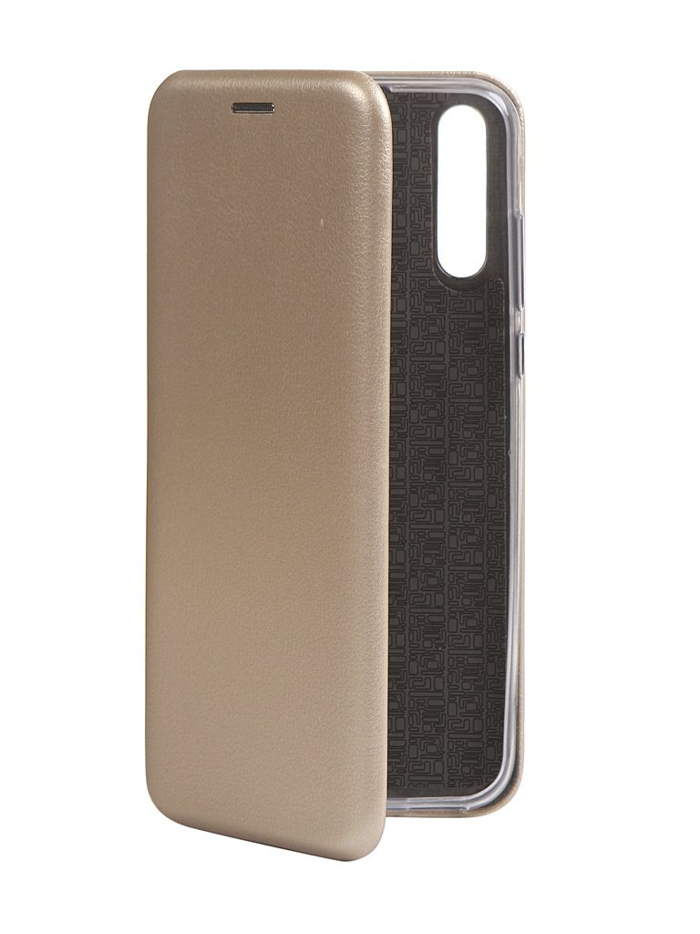 Чехол Zibelino для Huawei Y8p Book Gold ZB-HUW-Y8P-GLD