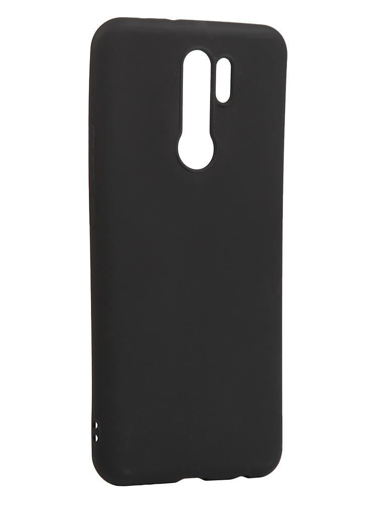 Чехол Zibelino для Xiaomi Redmi 9 Soft Matte Black ZSM-XIA-RDM-9-BLK чехол zibelino для xiaomi redmi 9 soft matte turquoise zsm xia rdm 9 tqs