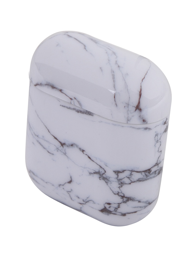 Чехол Zibelino для APPLE Airpods Silicon Case White Granite ZCM-AIR-WHGR