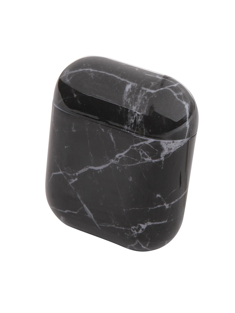 Чехол Zibelino для APPLE Airpods Silicon Case Black Granite ZCM-AIR-BLGR
