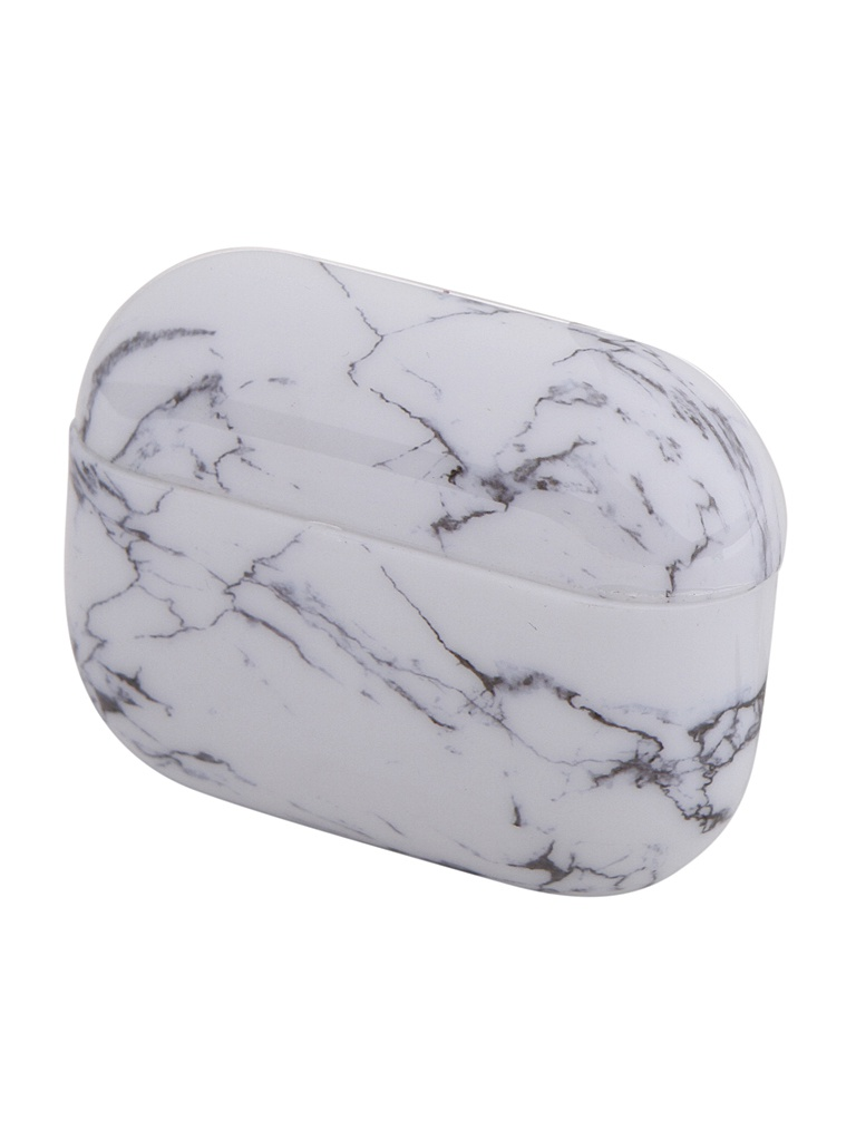 Чехол Zibelino для APPLE Airpods Pro Silicon Case White Granite ZCM-AIR-PRO-WHGR