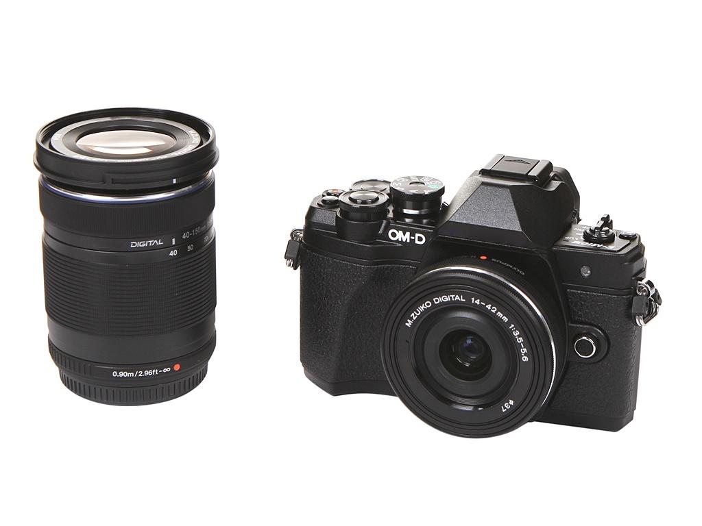 Фотоаппарат Olympus OM-D E-M10 Mark III Kit 14-42mm EZ Pancake + 40-150mm R Black-Black-Black.