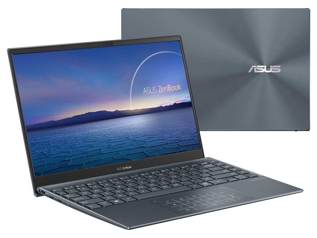 Ноутбук ASUS Zenbook UX325JA-EG069T 90NB0QY1-M01760 (Intel Core i7-1065G7 1.3 GHz/8192Mb/512Gb SSD/Intel Iris Plus Graphics/Wi-Fi/Bluetooth/Cam/13.3/1920x1080/Windows 10 Home 64-bit)