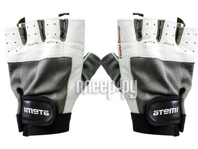 Перчатки Atemi размер XL Black-White AFG02XL