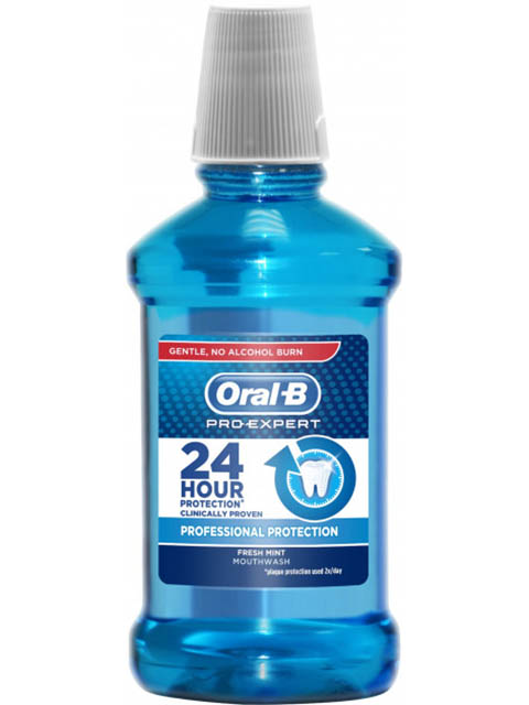 Ополаскиватель для полости рта Oral-B Pro-Expert Professional Protection 250ml 5013965850455 albert heijn b v ah 250ml