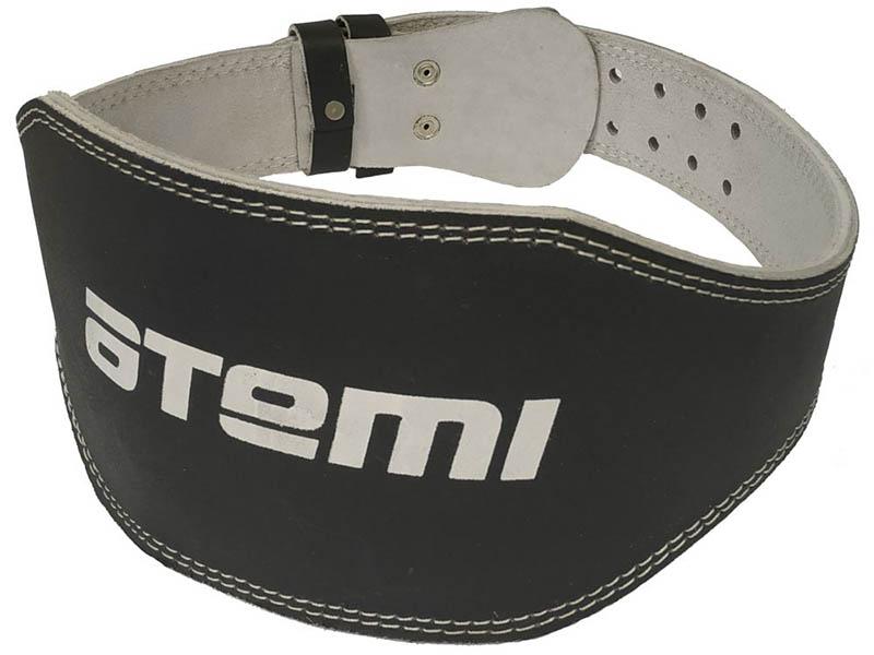 Пояс тяжелоатлетический Atemi сплит-кожа 15cm размер L AFB03L