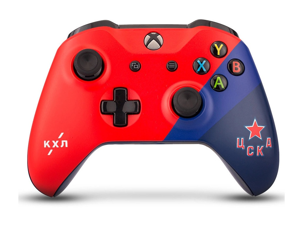 Геймпад Microsoft XBOX One Wireless Controller КХЛ ЦСКА RBW-XB049