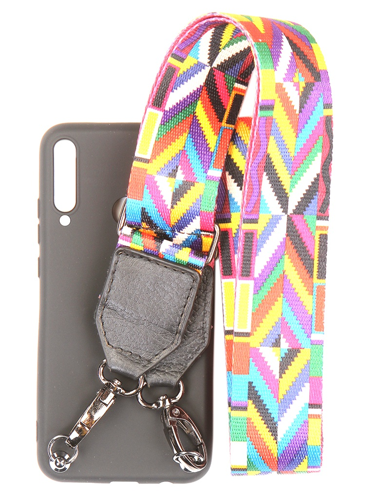 Чехол Ally для IPhone 11 Pro Max А4 Soft Touch с ремешком Blue A4-01108