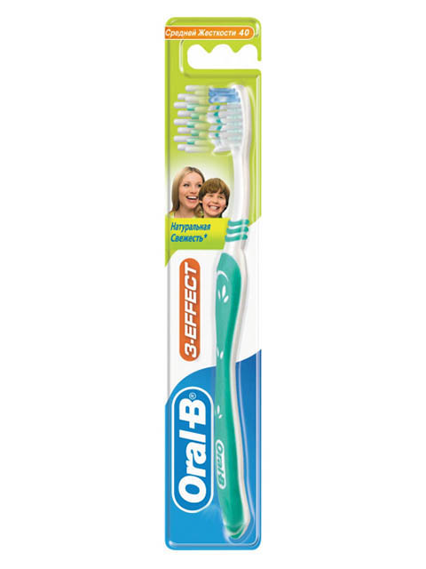 Щетка Oral-B 3-Effect Medium Свежесть 3014260832834