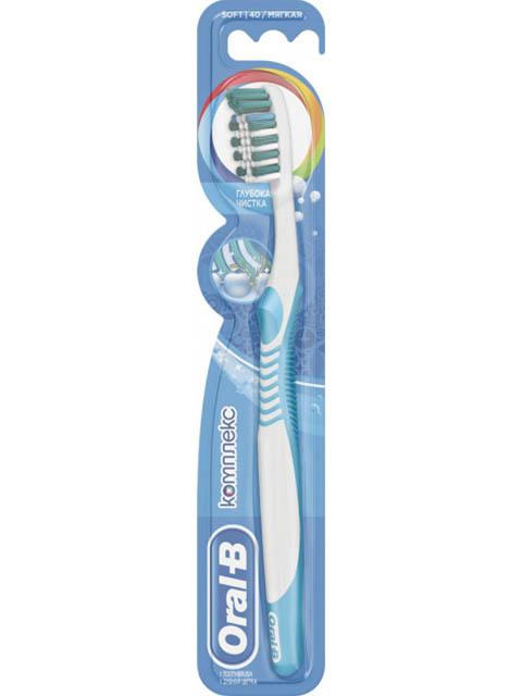 Щетка Oral-B Комплекс Глубокая чистка мягкая 3014260318857