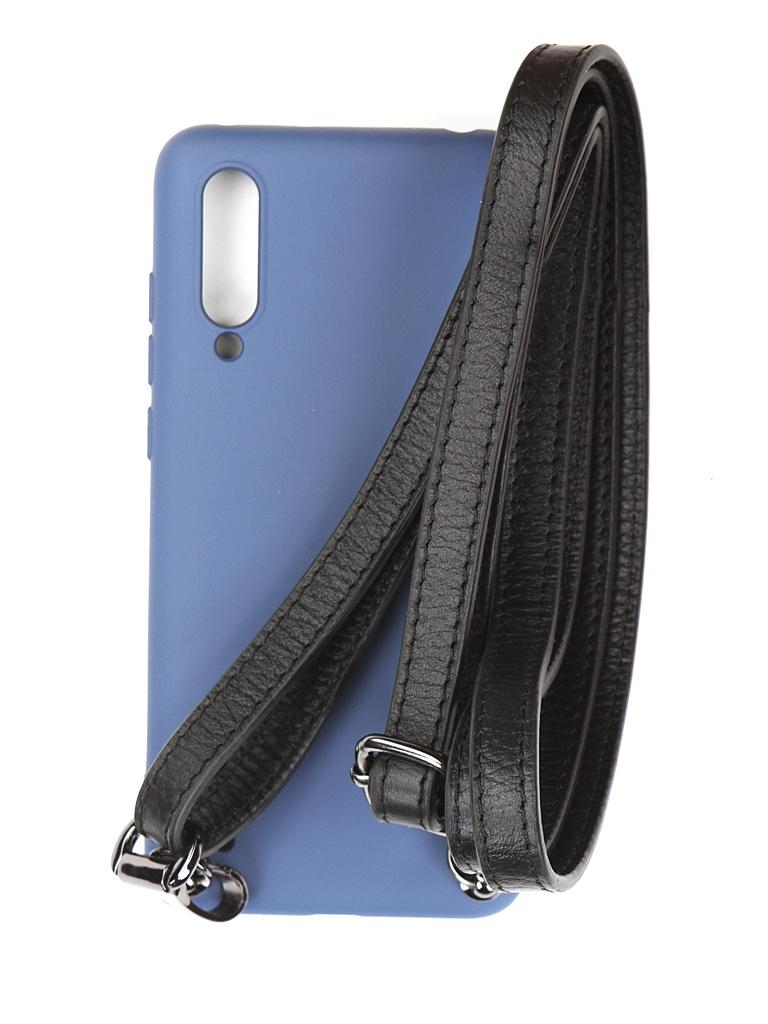 Чехол Ally для Xiaomi Mi 9 Lite А1 Soft Touch Blue A1-01124