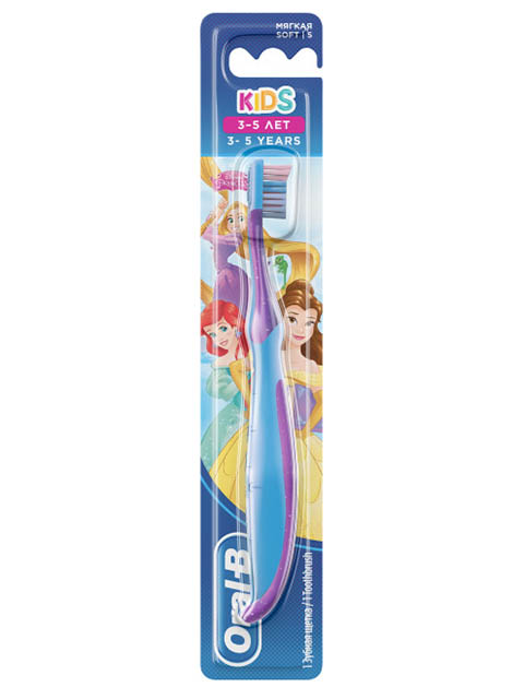Зубная щетка Oral-B Kids Cars/Frozen 3-5 лет 3014260099053
