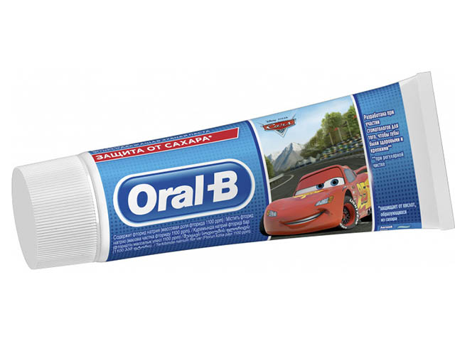 Зубная паста Oral-B Kids Frozen/Cars Легкий вкус 75ml 8001841175003