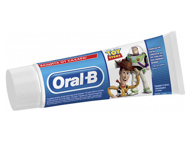 Зубная паста Oral-B Kids Toy Story Легкий вкус 75ml 8001841144276