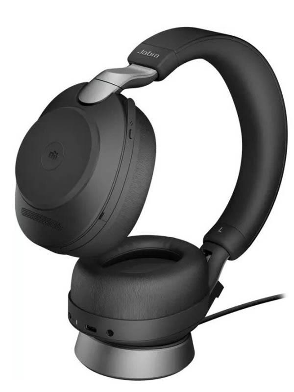 Наушники Jabra Evolve2 85 Link380a UC Stereo Stand Black 28599-989-989