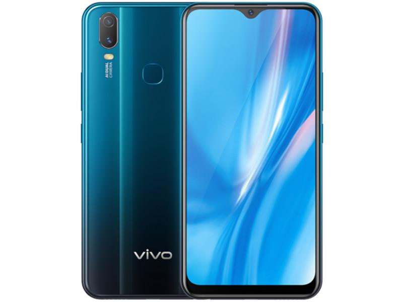 Сотовый телефон Vivo Y11 32Gb Mineral Blue Выгодный набор + серт. 200Р!!!
