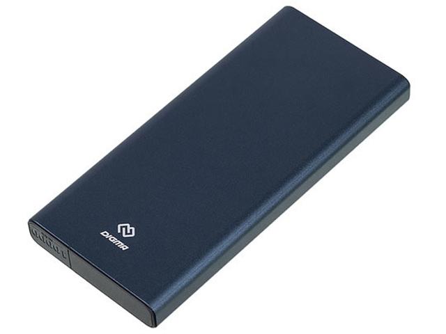 Внешний аккумулятор Digma Power Delivery DGT-10000 10000mAh Blue
