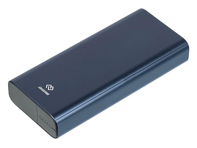 Внешний аккумулятор Digma Power Delivery DGT-20000 20000mAh Blue