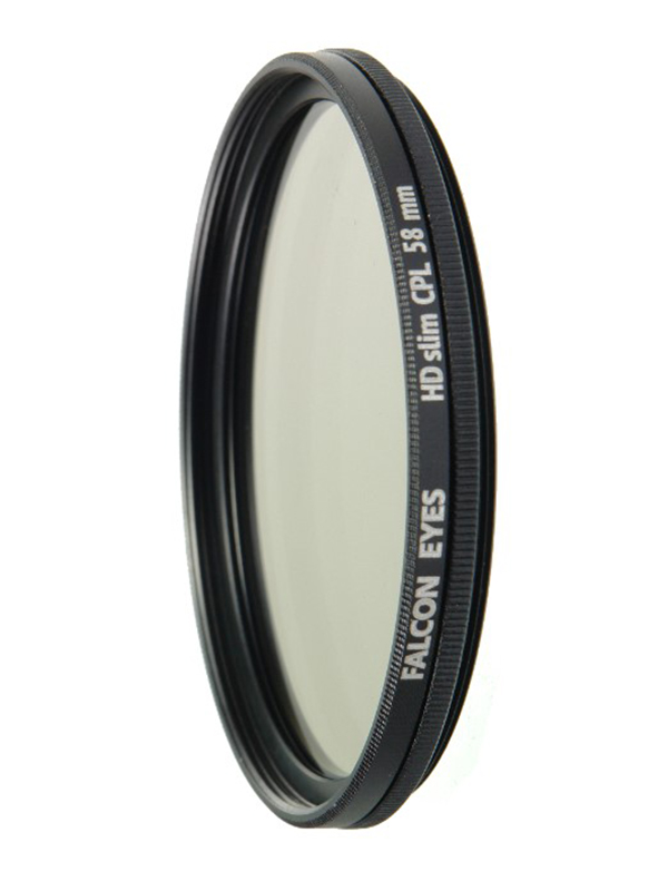 Светофильтр Falcon Eyes HDslim CPL 58mm 24639