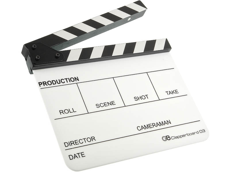 Кинохлопушка GreenBean Clapperboard 03 27191 недорого