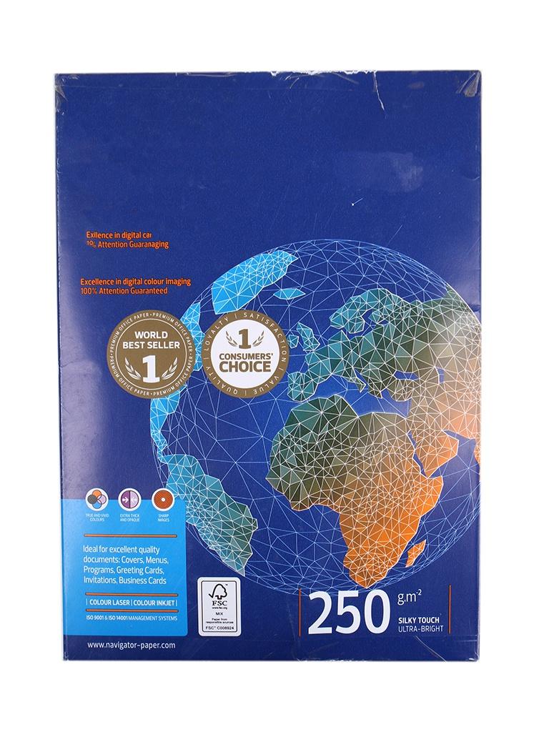 цена на Бумага Navigator Paper Hard Cover A4 250g/m2 125 листов
