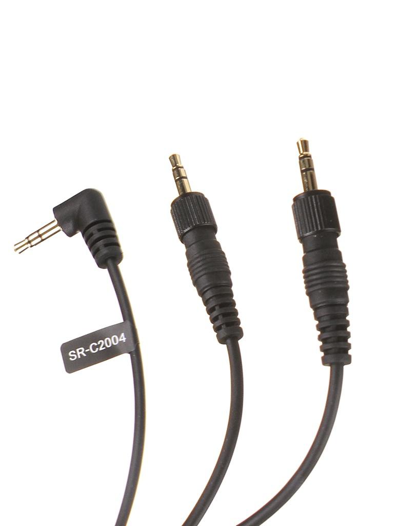 Фото - Кабель-переходник Saramonic SR-C2004 TRS 3.5mm - 2xTRS 3.5mm 30cm кабель