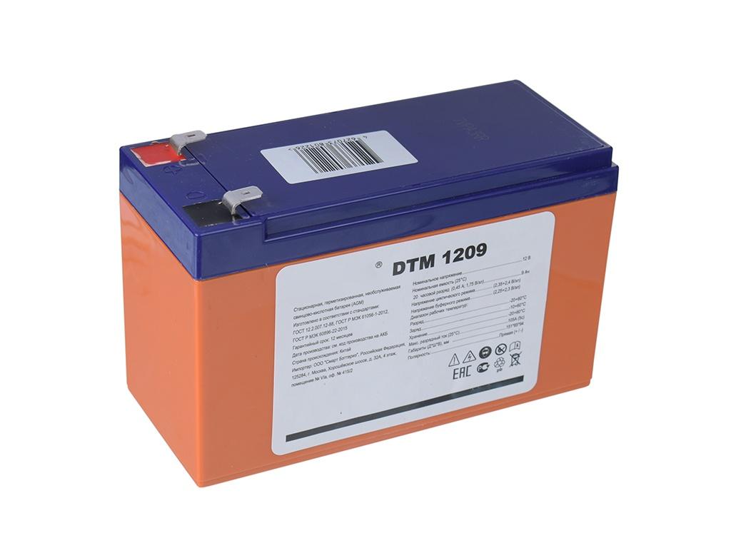 Аккумулятор для ИБП Delta DTM 1209 12V 9Ah