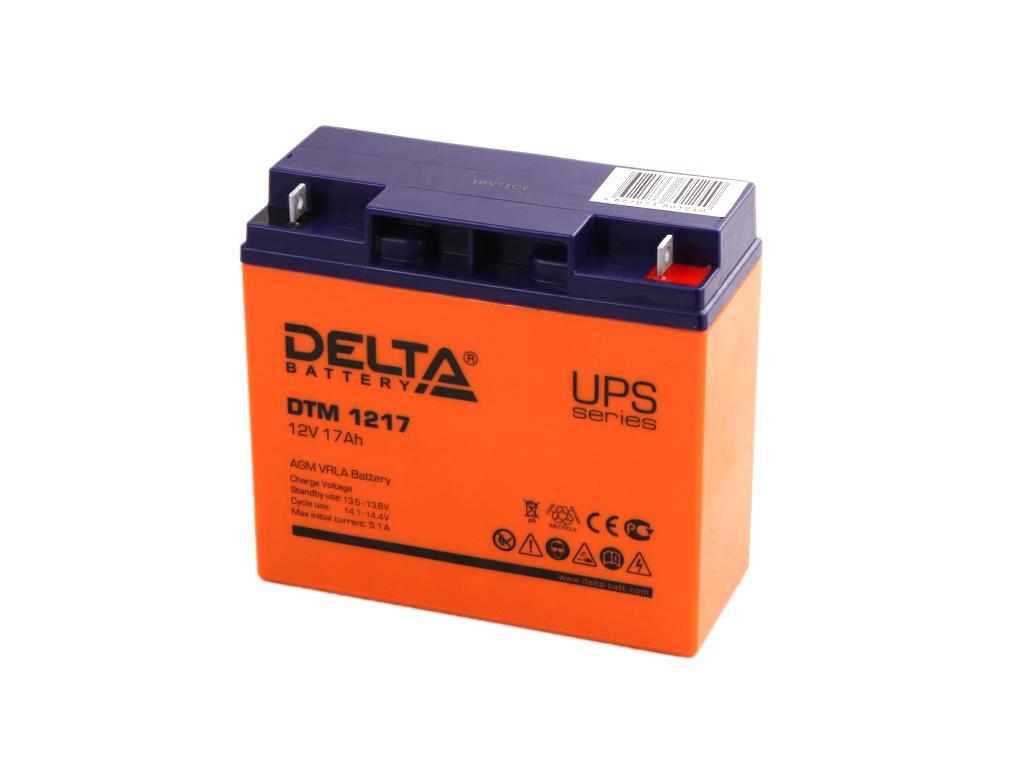 Аккумулятор для ИБП Delta DTM 1217 12V 17Ah