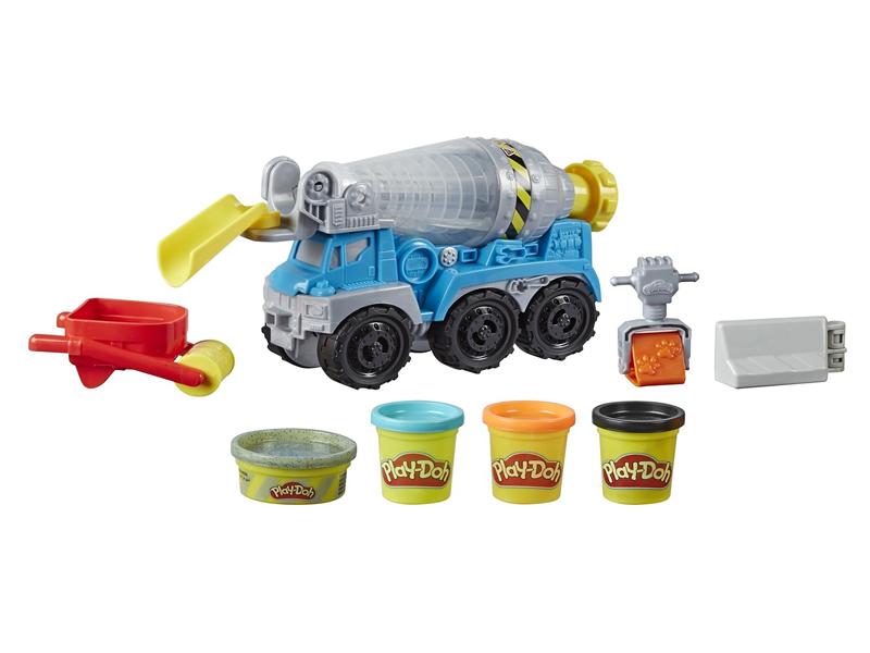 Игрушка Hasbro Play-Doh Wheels Бетономешалка E68915L0