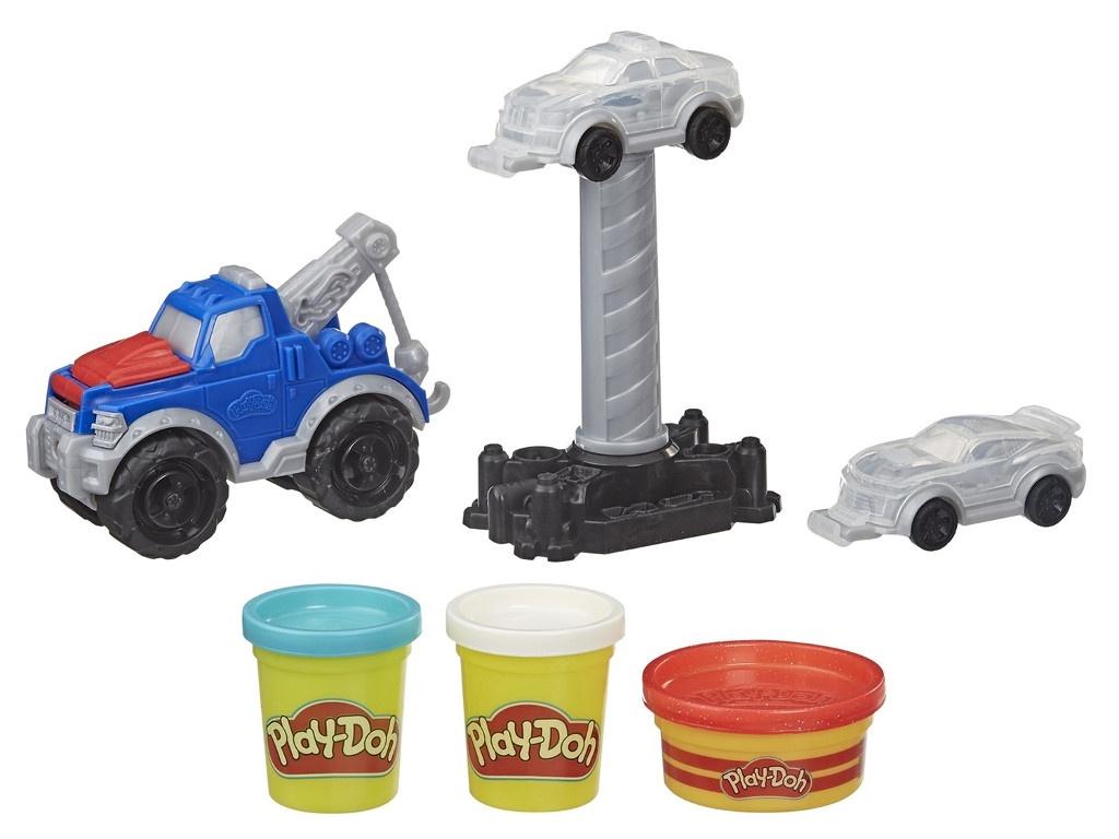 Игрушка Hasbro Play-Doh Wheels Эвакуатор E66905L0