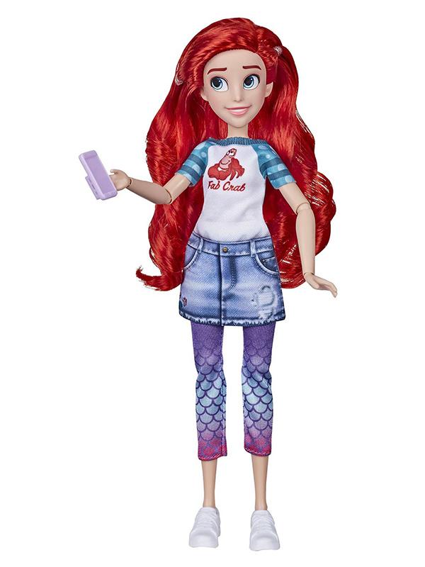 Игрушка Hasbro Кукла Принцесса дисней Комфи Ариэль E9160ES0