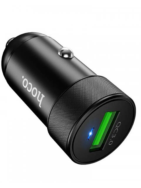 Зарядное устройство Hoco Z32 Speed Up USB QC3.0 Black