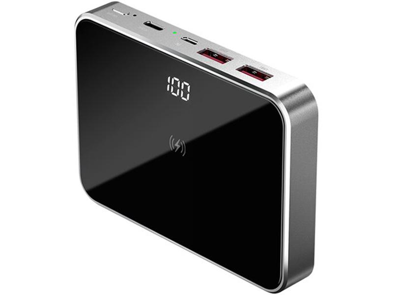 Внешний аккумулятор Prestigio Graphene PD 10000mAh PPB111G_SG