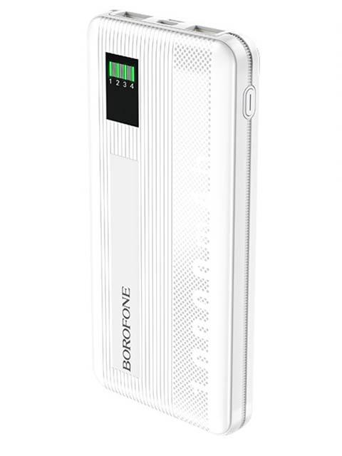 Внешний аккумулятор Borofone Power Bank BT32 Precious 10000mAh White